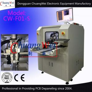 Precision Printed Circuit Board Router Pcb Manufacturing Machine / Pcb Cutting Machine