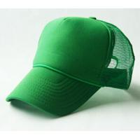 china factory plain green  trucker hat