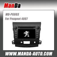 Manda factory dvd car gps for Peugeot 4007 in-dash car radio navigation