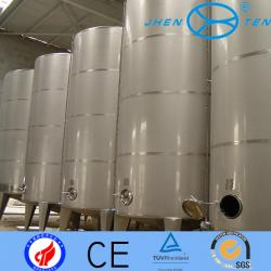 China Sanitary Grade  2B Cold Rooling  Milk Stainless Steel Storage Tank With Jacket on sale