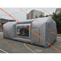 China Mobile Car Paint Inflatable Spray Booth Eco Friendly For Repair Industry on sale