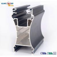 Sliding open style and double glazed Aluminum sliding windows Profile