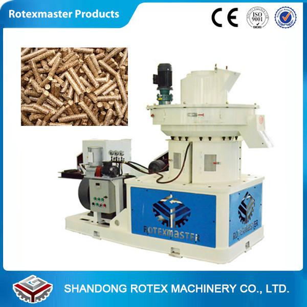 China Biomass pellet machine biomass fuel pellet machinery 1-1.5 ton per hour supplier
