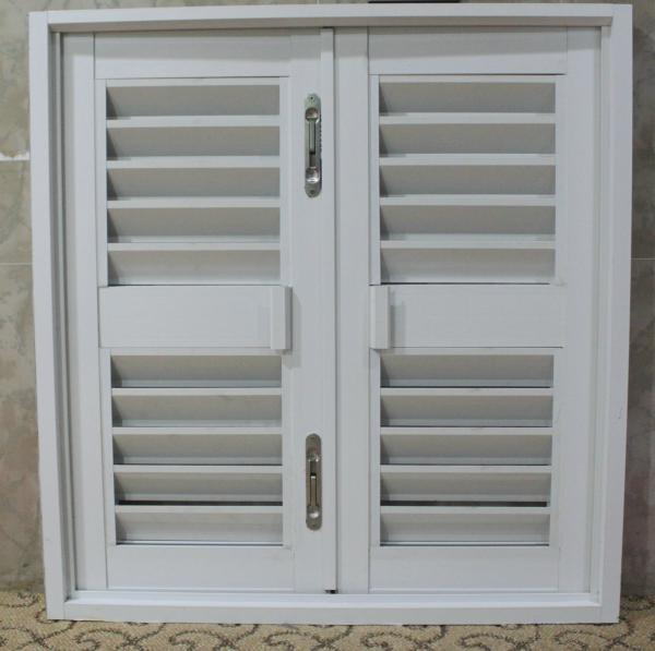 Powder Coated Windows : Mm profile thickness silver white powder coated