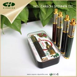 China Vision Spinner3 1600mah E Cig Battery Carbon Fiber Vision Spinner PCB Control on sale
