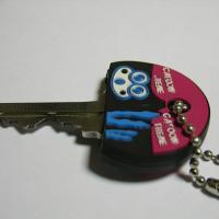 2013 New Design OEM production 3D soft pvc key holder cover
