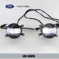 Ford C-MAX front fog light housing LED Lights DRL daytime running daylight