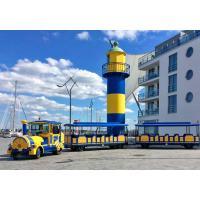 72 Persons Trackless Kiddie Train Electric Mini Train Full Floating Half Shaft
