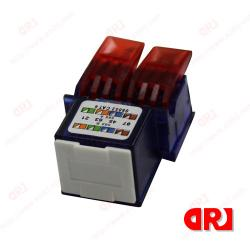 China High Performance CAT5E UTP female Rj45 Keystone Jack One Year Guarantee on sale