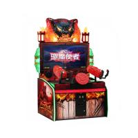 Coin Operated After Dark Gun Shooting Arcade Machine , 2 Players Simulator Game Machine For Children