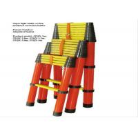 FRP Insulation Ladder Multi - Section Insulated Telescopic Ladder Protective Tools