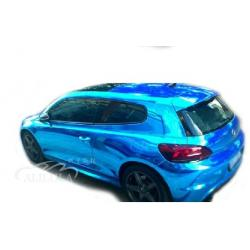 China Chrome Car Stickers Chrome Vinyl Car Wrap,Chrome Mirror Film on sale