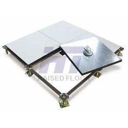 China Black PVC Edge Trim Raised Computer Room Floors Calcium Sulphate Panel on sale