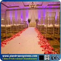China RK wedding chuppah pipe and drape Aluminum pipe and drape exhibition booth on sale