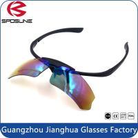 OEM Prescription Sports Glasses Safety Sunglasses Strap With Lens UV400