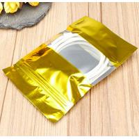 Nut / Candy Used Stand Up Aluminium Foil Packaging Bags Customizable Size