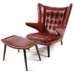 Replica modern classic furniture hans wegner papa bear for Imitation designer chairs