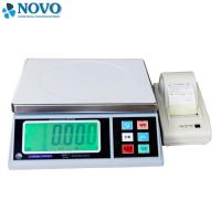 table top Digital Weighing Scale with printer customized size