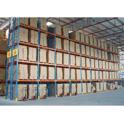 China Customize Metal Heavy Duty Storage Industrial Rack for timber pipe with CE on sale