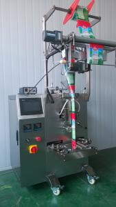 Multi - Function Liquid Pouch Packing Machine For Pure Water / Soybean Milk