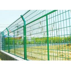 China Easy Assembly Green Wire Mesh Fencing , High Security Wire Mesh Security Fencing on sale