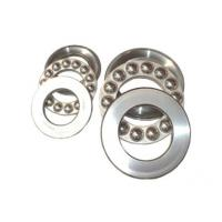 Low operating friction and high limiting speed thrust ball bearings for lead screws