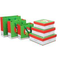 Christmas Custom Packaging Boxes Glossy Matt Lamination Rectangle Gift Presentation