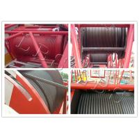 Large Capacity Hydraulic Pulling Winch / Hydraulic Overhead  Hoisting Winch
