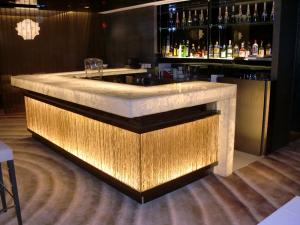 Modern Design Hotel Club Glowing Led Bar Counter For Sale