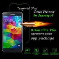 Real 2.5D Tempered Glass LCD Phone Screen Protection For Samsung Galaxy S3 MINI