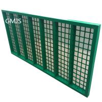 SWACO shaker screen / Steel Frame Shale Shaker Screen for Oil Vibrating Sieving