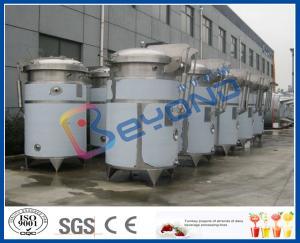 SUS304 or SUS316L stainless steel tea beverage/tea drink/herbal juice extraction tank with dimple pad jacket