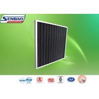 Customized Pleated Panel Air Filters Activated Carbon Synthetic Fiber