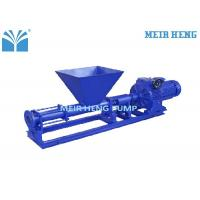 SS 304 Single Screw Type Pump NBR PVDF Silicone With Feeding Chopper