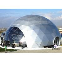 Outdoor Glass Igloo Camping Geodesic Dome Tent 12M Diameter