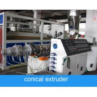 High Speed Polycop Pipe And Pvc Pipe Extrusion Machine For Diameter 15mm 50mm
