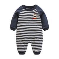 Comfortable Unisex Baby Wear Screen Printing 180G 100% Cotton Interlock