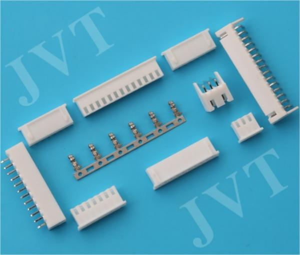 China XH 2.5 Pitch PCB wire to  board connector Disconnectable Crimp with Brass Contact Material supplier