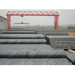 China Spiral Welded Galvanized Steel Water Pipe , Length 5.8 - 12.2m Or At Customers' Option on sale