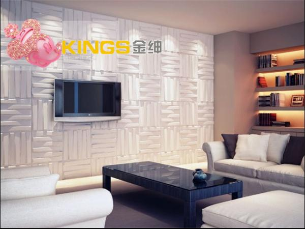 3d wood texture wall paper 3d wall tile for kitchen for Living room 3d tiles