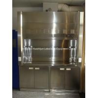 Split Type Stainless Steel Fume Hood , 1750m3/H Air Volume Chemical Fume Hood