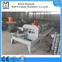 C U Purlin Roll Forming Machine , Flying Saw Cutting Steel Roll Forming Machine
