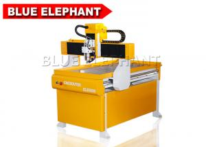 Portable 4 Axis 6090 Mini Cnc Pcb Router / Math3 Cnc Controller Router With Rotary Device