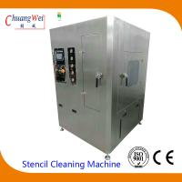 Unique Double Four Spray Bar Cleaning System smt stencil cleaner with 2PCS 50L Tanks