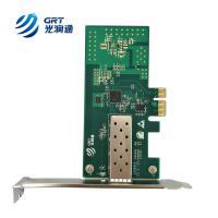 marcas tarjeta de red Intel I210 single sfp port gigabit ethernet pci-express card