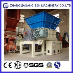 China Dual Shaft Recycling Waste Plastic Crusher Machine Two Motors on sale