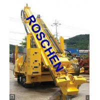 Rotary Reverse Circulation Drilling Rig Equipment with Diesel Engine Mounted Hydraulic System