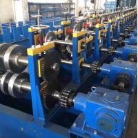 Durable Highway Guardrail Roll Forming Machine 300 H - High Grade Steel Frame Material