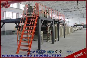 Automatic Wall Plastering Fiber Cement Board Production Line 1500 Sheets Capacity