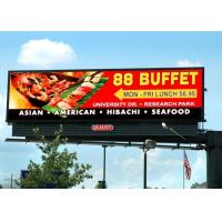 HD outdoor front service P10 P8 P6.67 led billboard display video wall IP65 for advertising and events